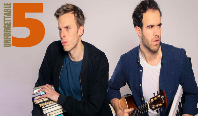 Does 'falling asleep' count as a heckle? | Harry & Chris share their Unforgettable Five gigs