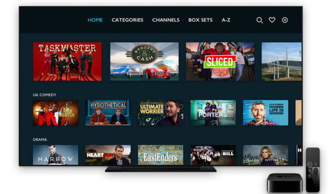 UKTV Play comes to AppleTV | Now it's easier to find shows using Siri
