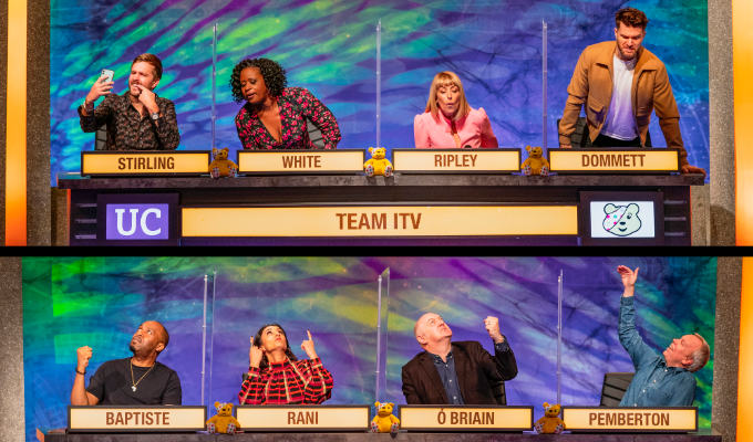 Comedians take on University Challenge | BBC vs ITV for Children In Need