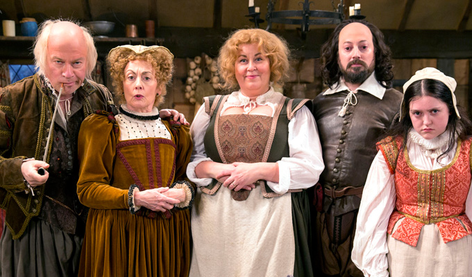 Ben Elton takes a pop at Ricky Gervais | In his new Shakespeare sitcom Upstart Crow