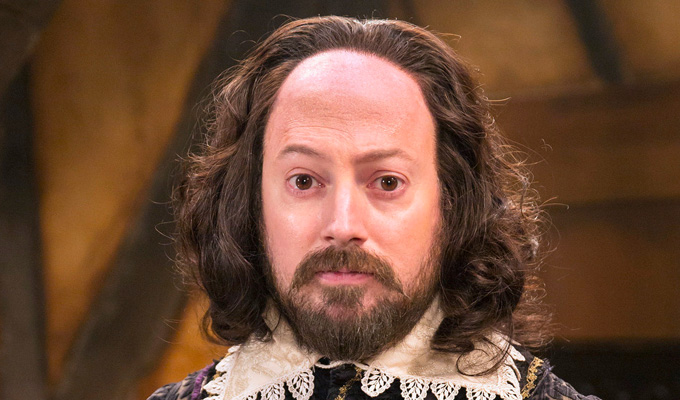 I'm playing Shakespeare as nerdy and uncharismatic | David Mitchell on Upstart Crow