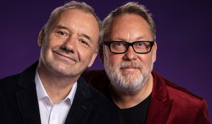 David Walliams was a very strange fella... | Vic Reeves and Bob Mortimer look back over their career