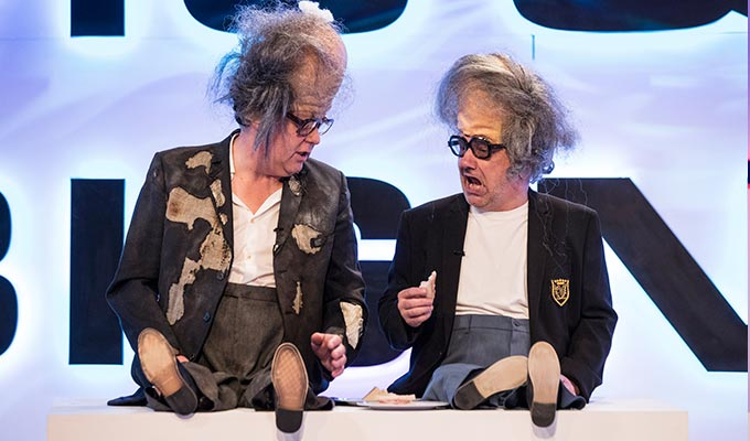 Vic and Bob's Big Night Out : Reviews 2019 :     Chortle : The UK Comedy Guide