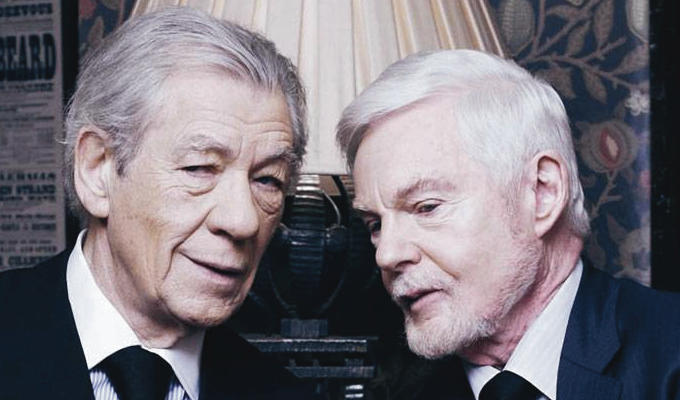 'This sitcom is not just about being gay' | Ian McKellan and Derek Jacobi talk Vicious