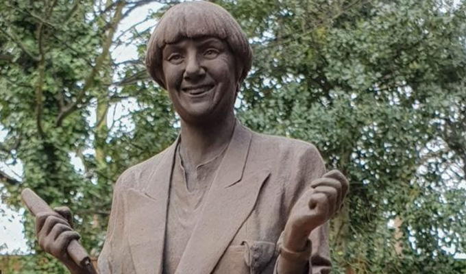 Victoria Wood statue to be unveiled tomorrow | But will it silence critics who say it looks more like Peter Beardsley?