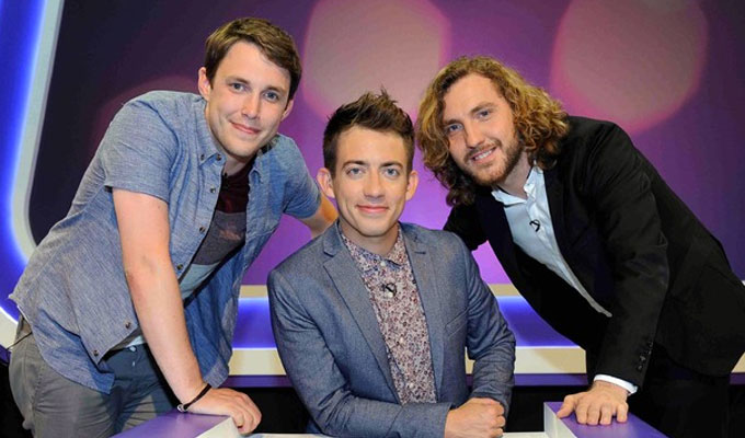 E4 renews Virtually Famous | Two new series for Seann Walsh panel show