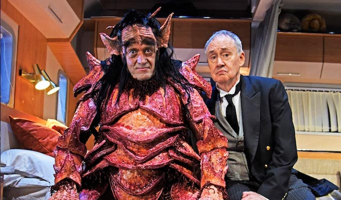 First images of Adrian Edmondson and Nigel Planer in Vulcan 7 | New stage comedy, set on a fantasy film
