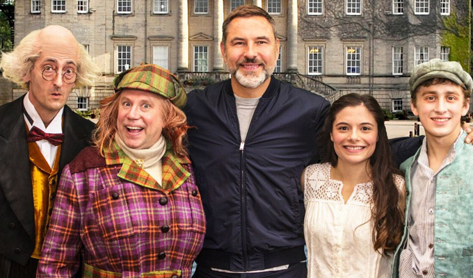 Heeeerere's Aunty! | How The Shining inspired David Walliams' kids' book