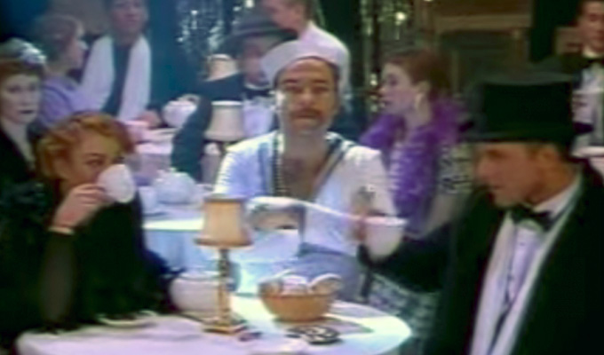 Hello, sailor! Who's this in an old Ant & Dec video? | Yep, David Walliams had a bit part in this
