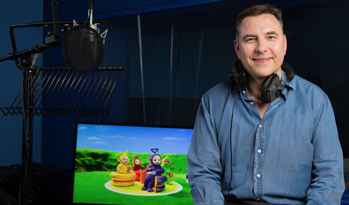 David Walliams joins Teletubbies | As a Voice Trumpet