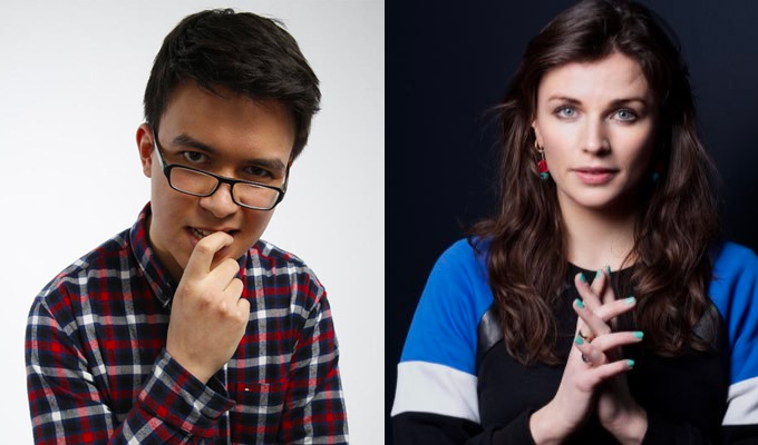 Aisling Bea and Phil Wang head to Netflix | With 15-minute specials