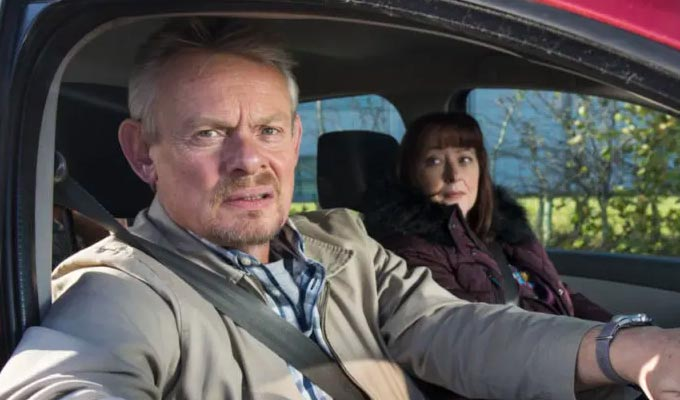 BBC axes Martin Clunes sitcom Warren | No second series for much-slated comedy