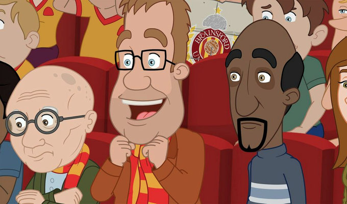 'He reminds me of Homer Simpson' | Warren United's stars talk about the new ITV animation