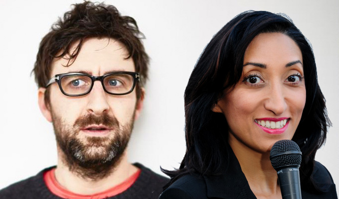 Mark Watson and Shazia Mirza join The Island | Surviving on Bear Grylls' C4 show