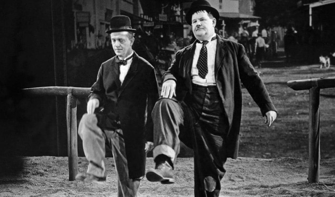 Revealed: The best-selling Laurel & Hardy films on DVD | ...as Stan & Ollie enters the weekly sales chart