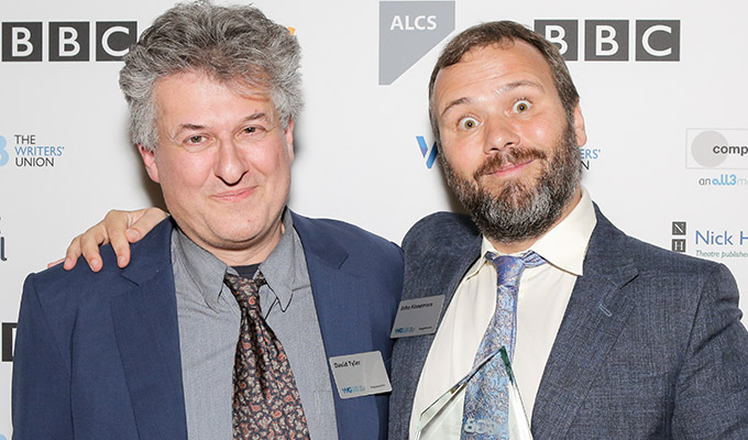My one tip for writers: Be a friend of David Mitchell | Full text of awards speech hailing John Finnemore