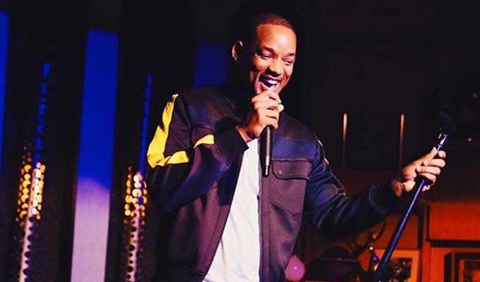Now look who's doing stand-up... | Will Smith knocks an item of his bucket list
