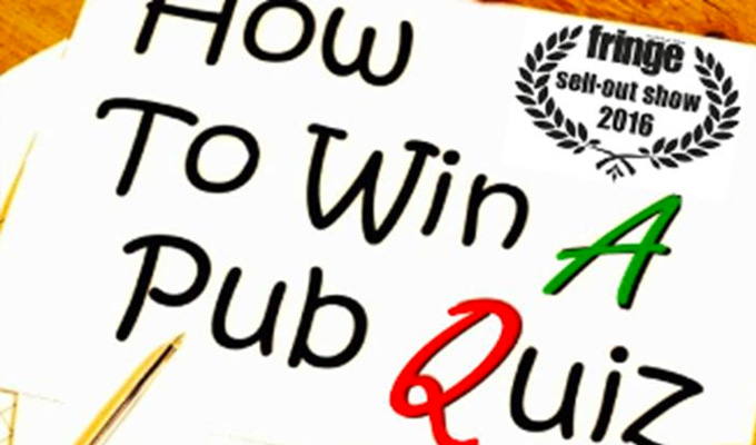 Alex Love: How to Win a Pub Quiz