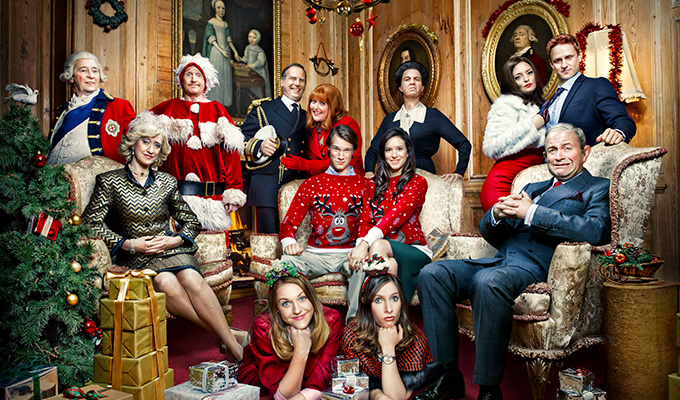 'It's hard not to laugh, you almost have to stuff a sock in your mouth' | Vicki Pepperdine on The Windsors