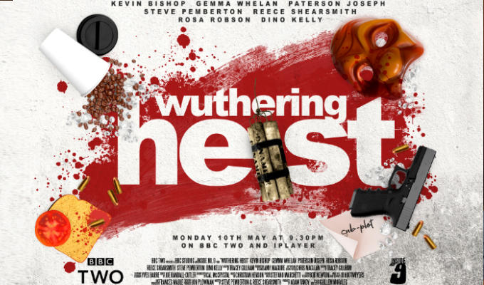Wuthering Heist poster