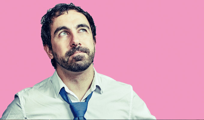 Yianni Agisilaou: The Un-Pinchable Pink Pen | Review by Steve Bennett at the Melbourne International Comedy Festival
