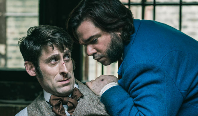 Work starts on Year Of The Rabbit series 2 | Writers planning for Matt Berry's Victorian comedy to be renewed