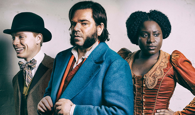 C4 orders 'The Sweeney in Victorian England' | Matt Berry to star in period cop comedy Year Of The Rabbit