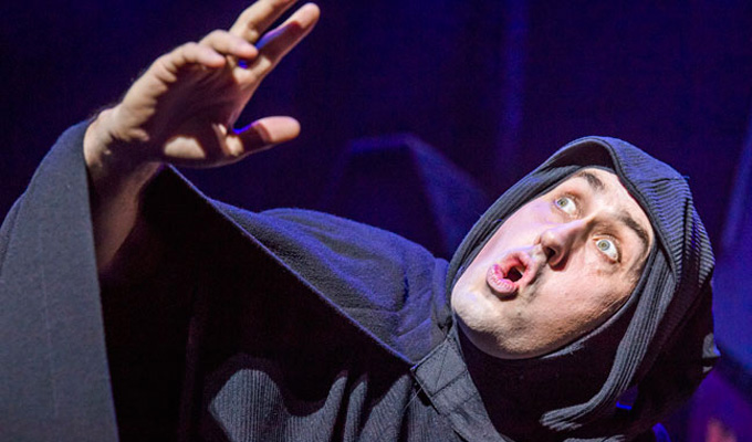 Theatre award for Ross Noble | Accolade for playing Igor in Young Frankenstein