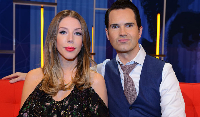 New Netflix series for Jimmy Carr and Katherine Ryan | Panel show to fix the world's problems