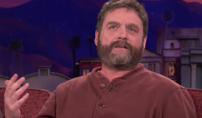 Zach Galifianakis: Definitely not dead | ...despite what some people may have heard