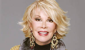 Joan Rivers Just For Laughs  gala | Review by Steve Bennett in Montreal