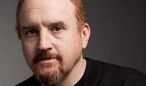 Heckler punches Louis CK in the face | ...but all is not what it seems