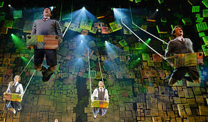 Minchin's Matilda sweeps Australian stage awards | And accolade for stand-up Tom Ballard
