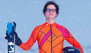 'These outfits make you look like you've got a beer belly and no willy' | Mark Dolan on tackling The Jump © C4/Steve Brown