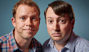 'They've spent so long going round in circles, it's difficult to imagine them doing anything else...' | David Mitchell and Robert Webb on the last series of Peep Show © C4/Mark Johnson