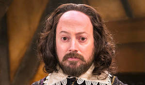 I'm playing Shakespeare as nerdy and uncharismatic | David Mitchell on Upstart Crow © BBC/Colin Hutton