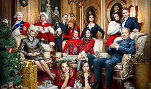 'It's hard not to laugh, you almost have to stuff a sock in your mouth' | Vicki Pepperdine on The Windsors © Channel 4