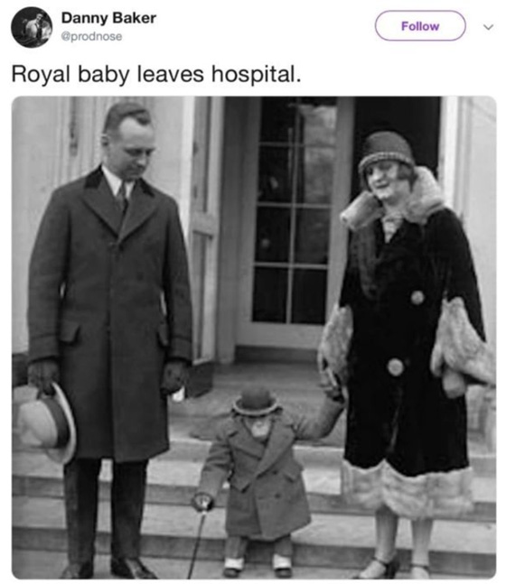 BBC fires broadcaster over royal baby tweet