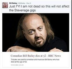 Bill tweet