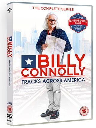 Connolly Tracks Across America DVD
