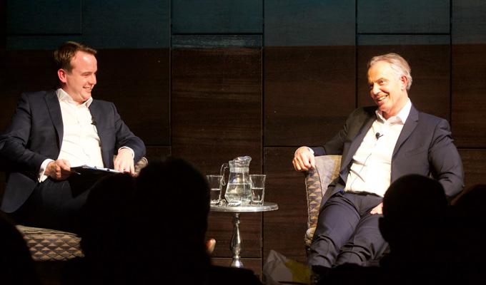 Tony Blair on the Political Party