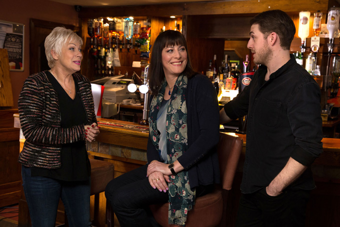 Boy Meets Girl With Harry Hepple Rebecca Root And Denise Welch