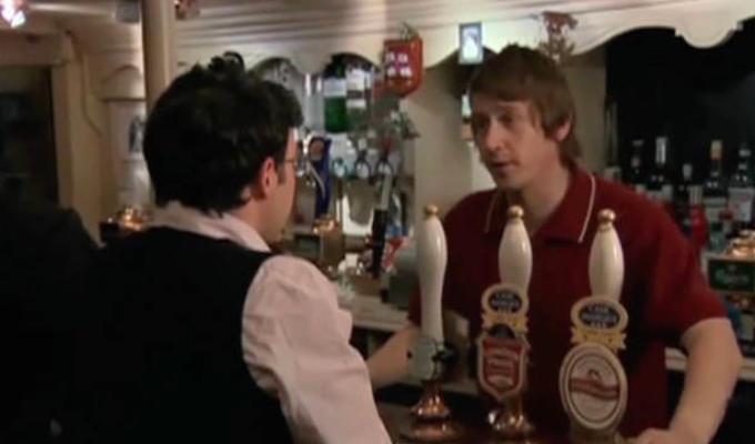 Inbetweeners bar scene