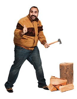 Chabbudy with axe