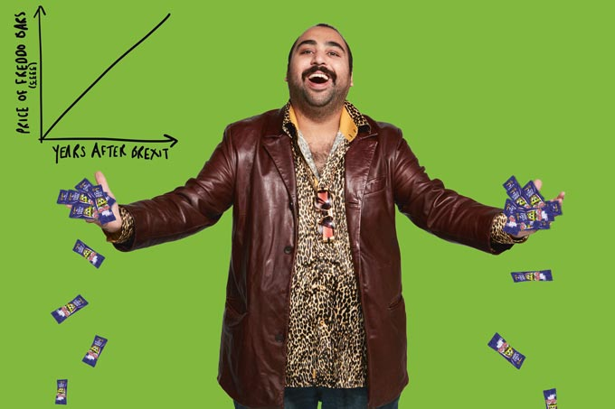 Chabuddy with Freddos
