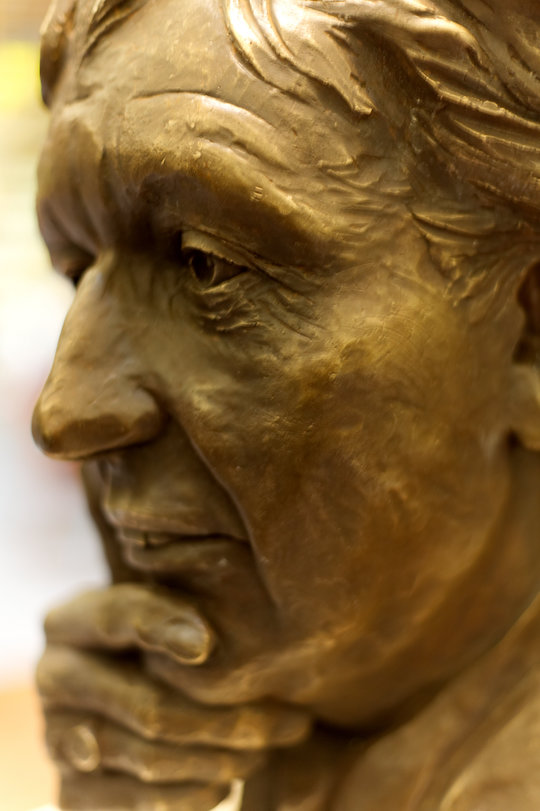 Dodd bust close-up