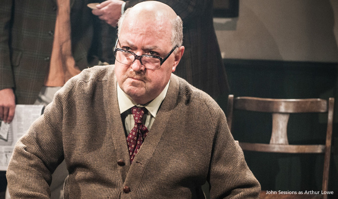 John Sessions as Arthur Lowe in Were Doomed
