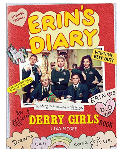 Erin Diary cover looks like a scrapbook