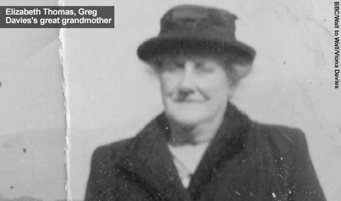 Greg great grandmother