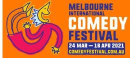 Melbourne International Comedy Festival logo